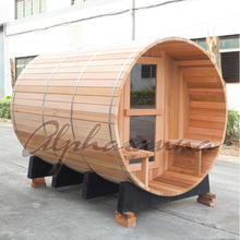 Factory direct wholesale sale barrel wood fired/Electrical heater sauna room