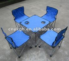Foldable camping table&chair sets VLA-6057B