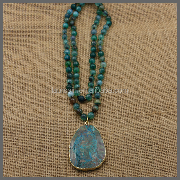 Ls s386 hot style druzy pendant necklacerosary necklacegold druzy pendant necklacerosary necklacegold plated necklacegemstone agate necklacebeaded necklace buy druzy pendant necklacedruzy pendant rosary aloadofball Images