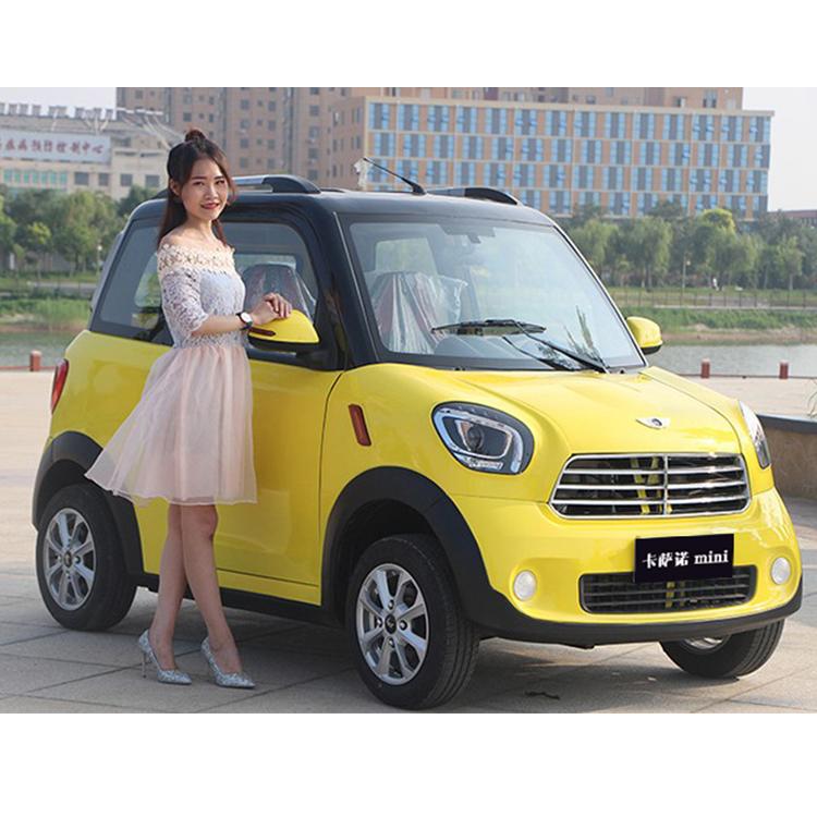 2 Door Solar Mini Electric Car