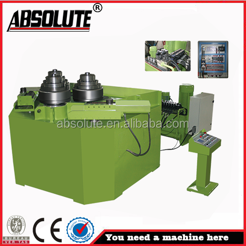 ABSOLUTE brand used roll bending machine chinese new profile steel bar plate bending machine for sale