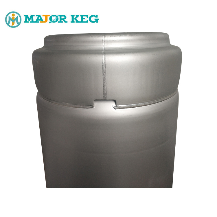 Secure Handle Holes 19.8L Stainless Steel Beer Keg 5 Gallon Beer Cask