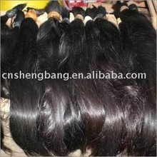 indian hair Natural Virgin Hair Bulk 18inch to 40inch remy hair