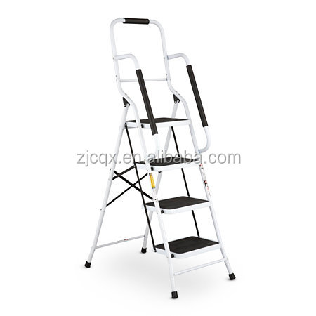Knock down safety 4 step ladder