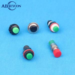 Plastic Round Applianul Push Button Switch With/Without (Momentary Or Latched) For Vacuum Heater Etc