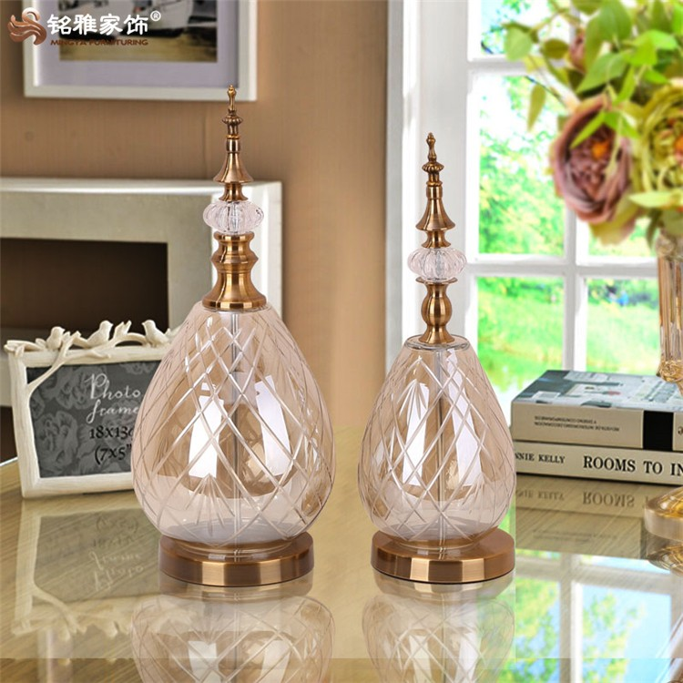 europ enne articles de d coration de maison en verre color bouteille vase fleurs pour d cor. Black Bedroom Furniture Sets. Home Design Ideas