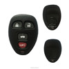wholesale 3+1 button car remote key blank for buick key cover