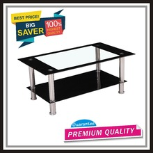 CTBY-CT1007 tempered glass living room coffee table occasional KD low price promotional product