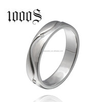 Wedding Ring 925 Silver Couple Promise Diamond cz Sterling Silver Band Engagement Ring