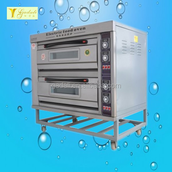 Hot sale 2 layers 4 trays commercial bread oven(ZQB--2-4D)