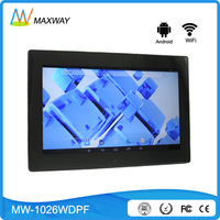 10 Inch Android Bluetooth Wireless Wifi Digital Photo Frame Touch Screen