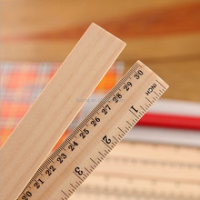 Hot Sale Wooden Ruler 30cm/12inch ruler triangular/ruler tape measure