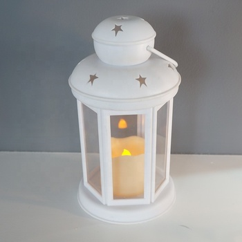 March EXPO weddings/holiday decoration battery operated portable electric hanging led candle holder lanterns