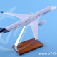 Plane Model Metal (Zinc Alloy) Airbus A350 Prototype 1:230 29cm Airline Aircraft Custom Logo Made in China Promotional Souvenir