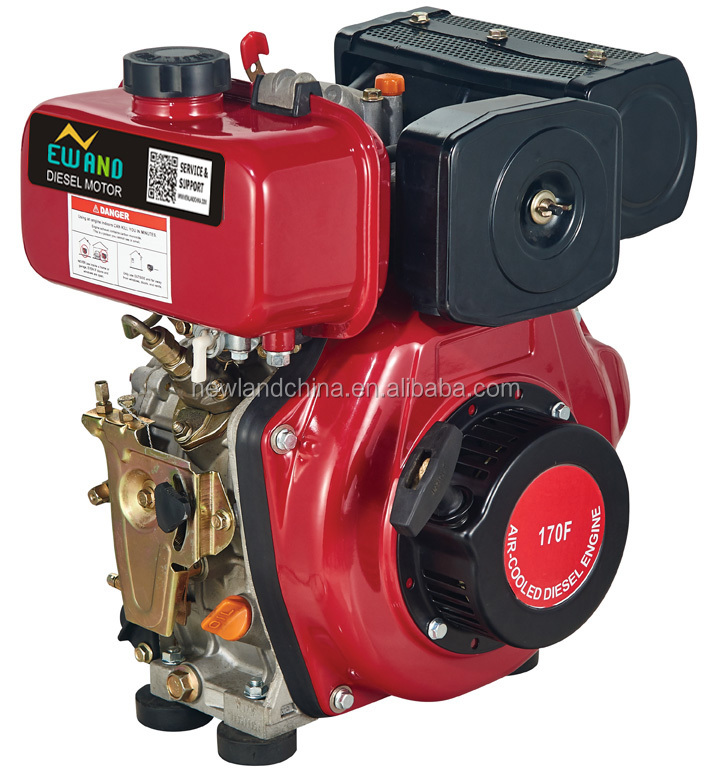 recoil start/electric start,4-stroke single cylinder air cooled Protable diesel generator engine