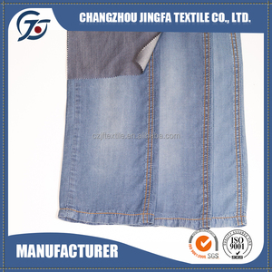 16S005 knitted denim fabric 100% Tencel made in china