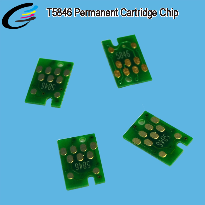 Fast Shipping Inkjet Cartridge T5846 Auto Reset Chip for Epson PictureMate PM200 PM260 PM280 PM290 PM225 PM240