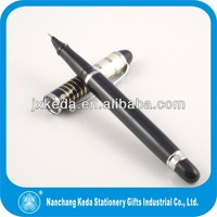 2015 high quality gift fine tip pen promotion metal fountain&roller pen with acrylic cap