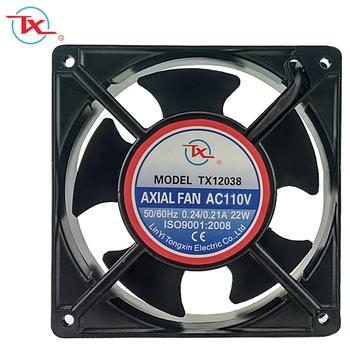 Ac Cooling Fan 120mm 12038 Cabinet 110v 220v 240v 120x120x38mm Panasonic Fans