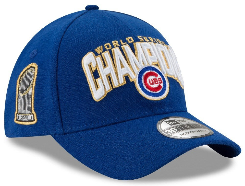 7ec55773a59 Get Quotations · Chicago Cubs New Era 39THIRTY 2016 World Series Champions  Men s Hat