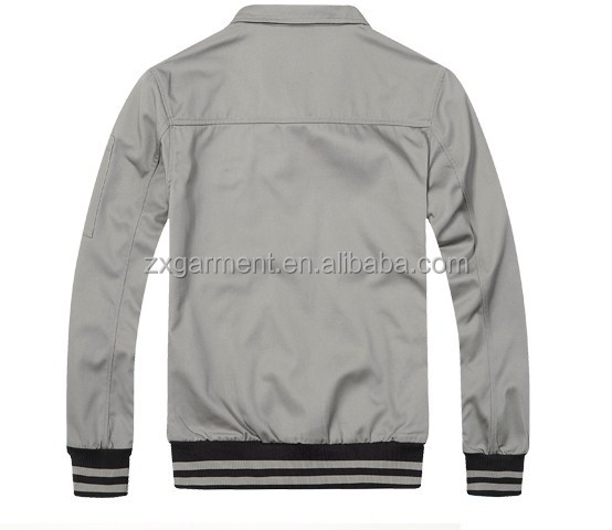 2017 OEM unisex workwear jacket uniform