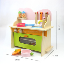Wooden Play Kitchen for Boys and Girls Playfully Delicious Gourmet Playset with Accessories
