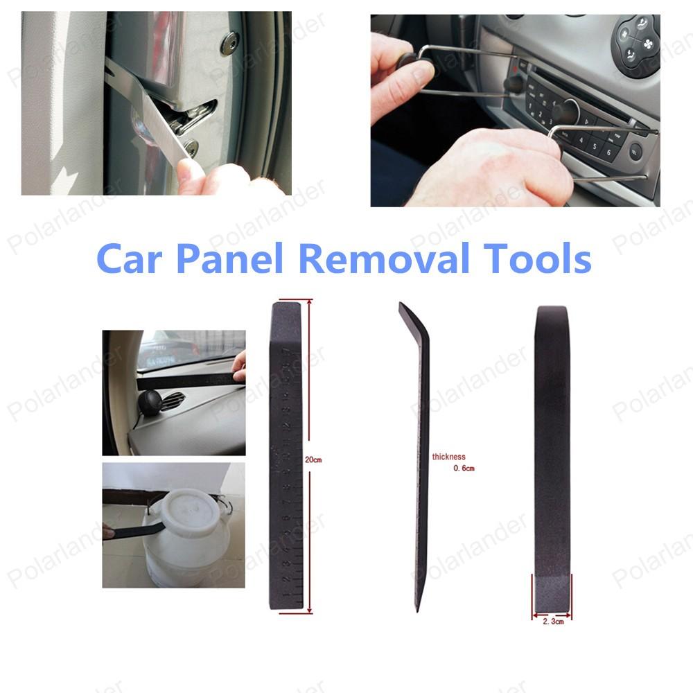 Высокое качество бесплатная доставка ремонт комплект комплект инструментов автомобиля средство для удаления панели 17 шт.