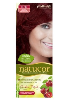 Natucor Dark Blond Deep Cherry Red 6 66 Buy Hair Color Product