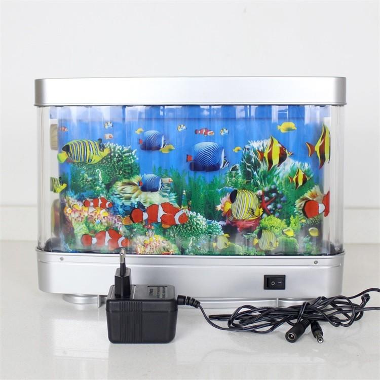 Abs 12v Artificial Tropical Fish Aquarium Decorative Lamp