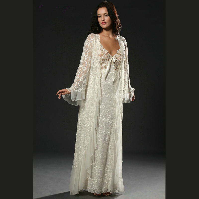 China embroidery night gown wholesale 🇨🇳 - Alibaba