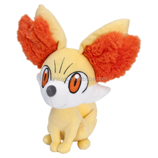 "8"" Pokemon Plush Toys Fennekin Plush Doll"