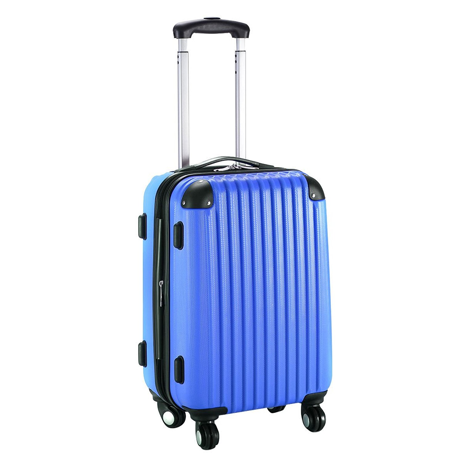 Cheap Navy Blue Suitcase Find Deals On Line At Corner Classic Lightweight Duffel Get Quotations 20 Hardshell Luggage Trolley Travel Multi Directional Wheels Rolling