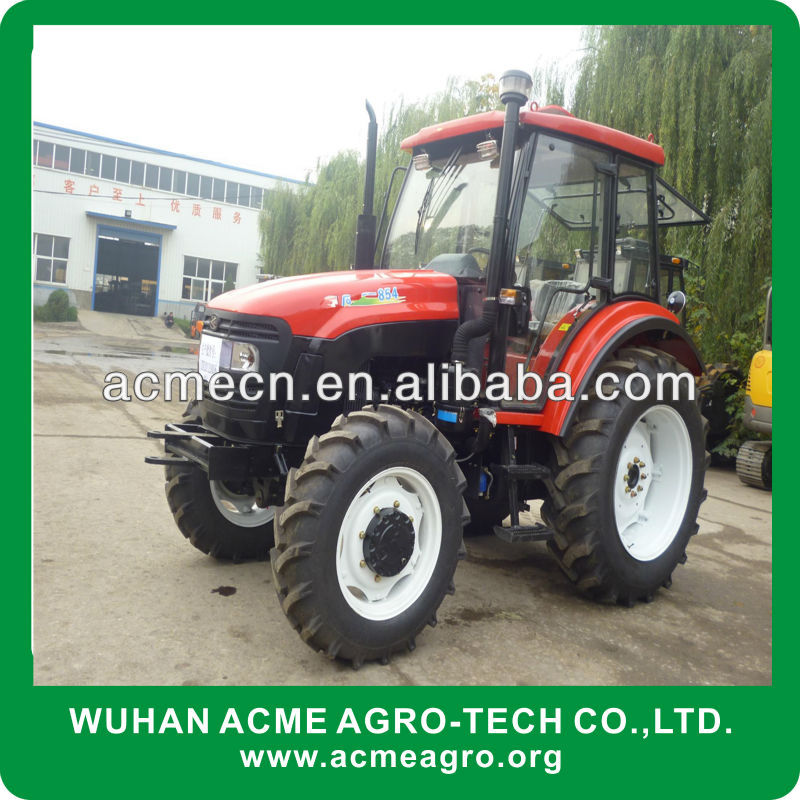 Good selling wheeled 80hp farm tractor with china manufacturer