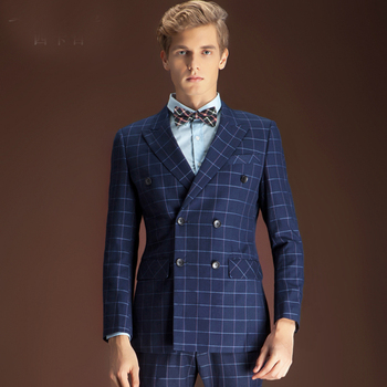 Mens Work Clothes Sets Fashion Custom Business Suits Design
