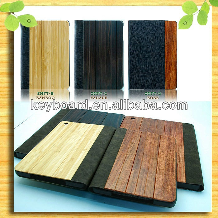 Eco-friendly healthy bamboo case for ipad air factory wholesale