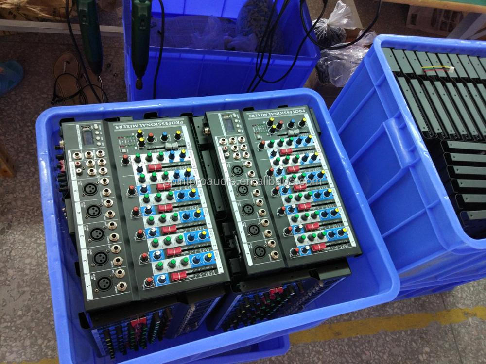 OEM LR MAIN mix 60mm fadders 2 track monitor and replay mp3 player 4 channels pro audio mixer sound yamahao mixer