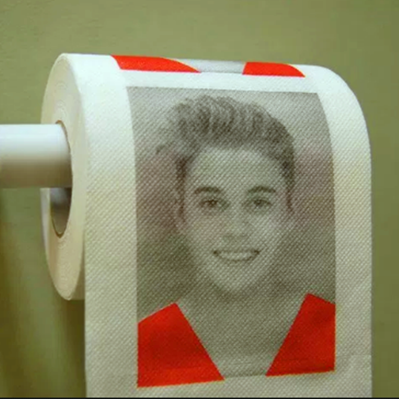 Factory Direct Sale Justin Bieber Funny Custom Printed Toilet Paper - Buy  Printed Toilet Paper,Funny Toilet Paper,Custom Printed Toilet Paper Product  on Alibaba.com