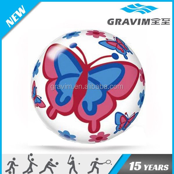 full printing non-toxic PVC toy ball/PVC plastic toy balls/inflated toy balls