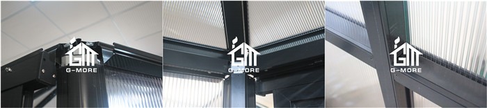 G-MORE Luxury Super Strong Aluminium Glass Spa room