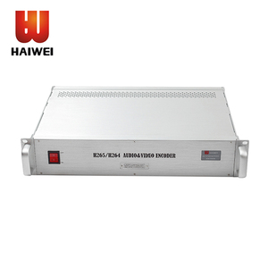 Haiwei 16 channel H.265 H.264 HDMI full HD encoder for iptv solution