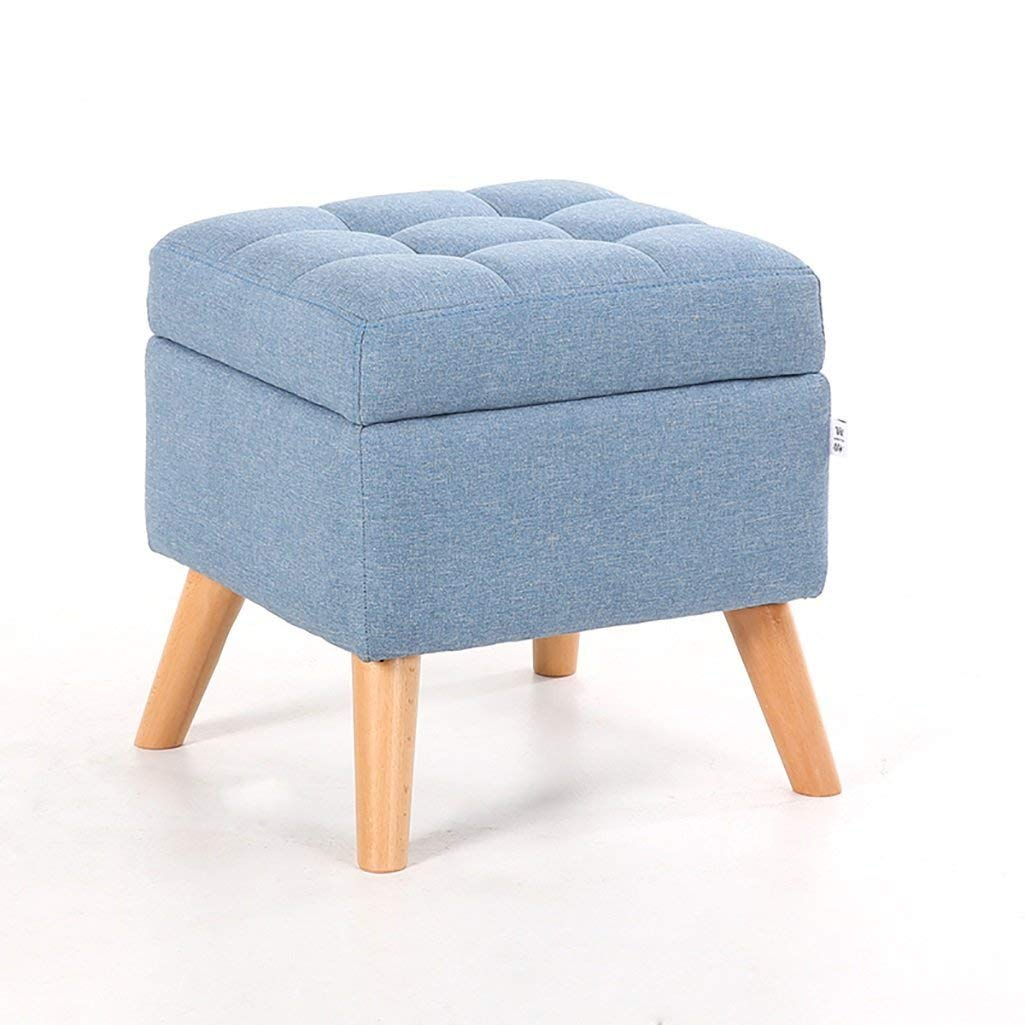 AIDELAI Bar Stool chair- Stools Shoe Benches Elm Sofas Stools Footstools Shoes Stores Stools Benches Benches Try On Stools Saddle Seat (Color : A)