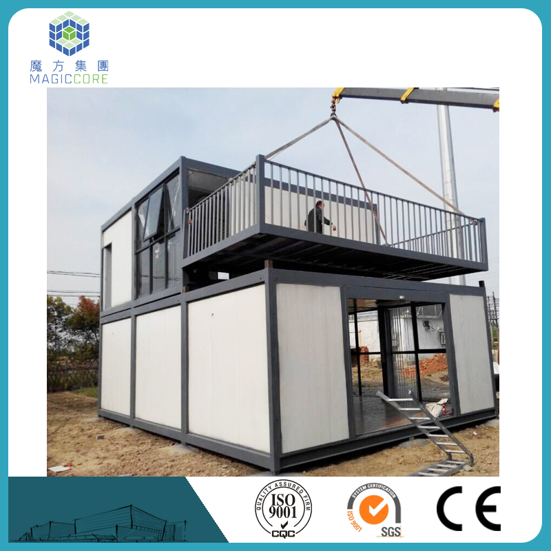 easy shipping accommodation container house bolt connecting prefabricated container house luxury