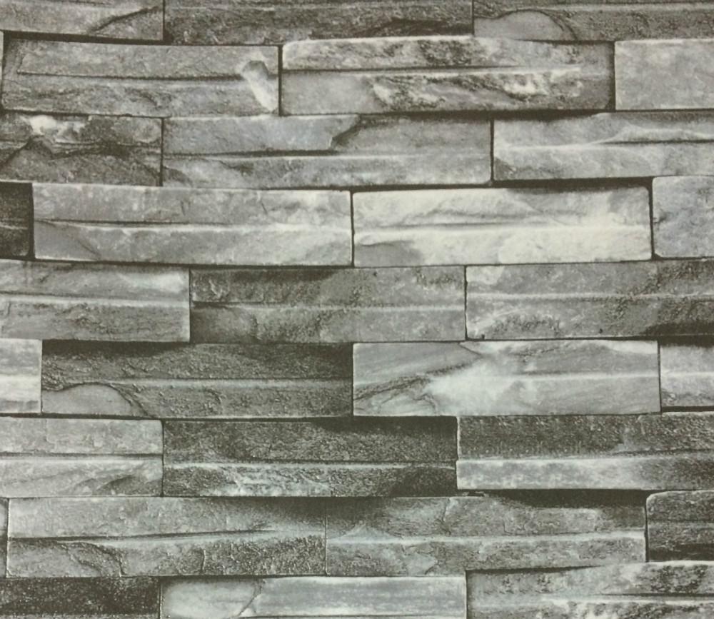Brick design pvc wallpapers 3d brick wall paper 3d for Brick wallpaper office