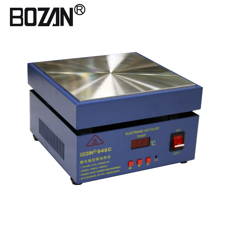 Electronic Lab Hot Plate Preheating Preheat Station 110V  800W 200*200mm