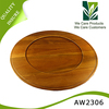 China wholesale wooden round tray