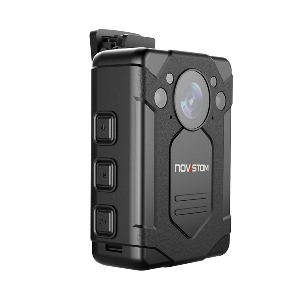 Novestom 2019 selling 1296P GPS optional 32GB police body worn camera