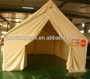 UNFPA customized single layer refugee tent
