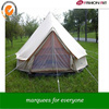 [ Fashionart ]5M bell tent lodge with mesh on the doors and windows and with zip ground sheet