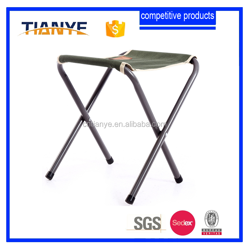 portable outdoor hiking iron camping folding chair with EN581-1&-2