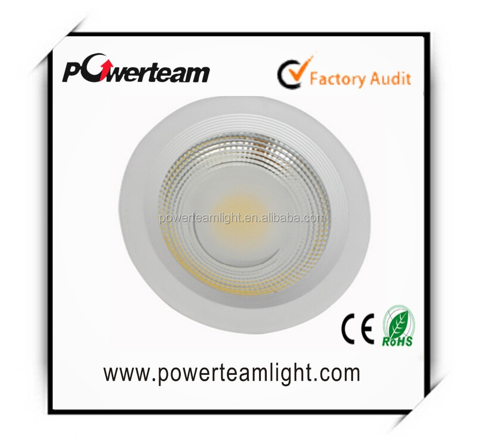 Embedded CREE COB IP20 25W LED down lights